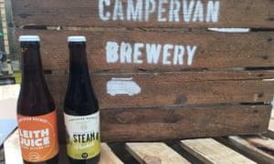 Campervan Brewery Tap Room, Edinburgh