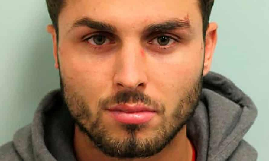 Arthur Collins was found guilty of multiple charges after he squirted acid in a crowded nightclub in east London.