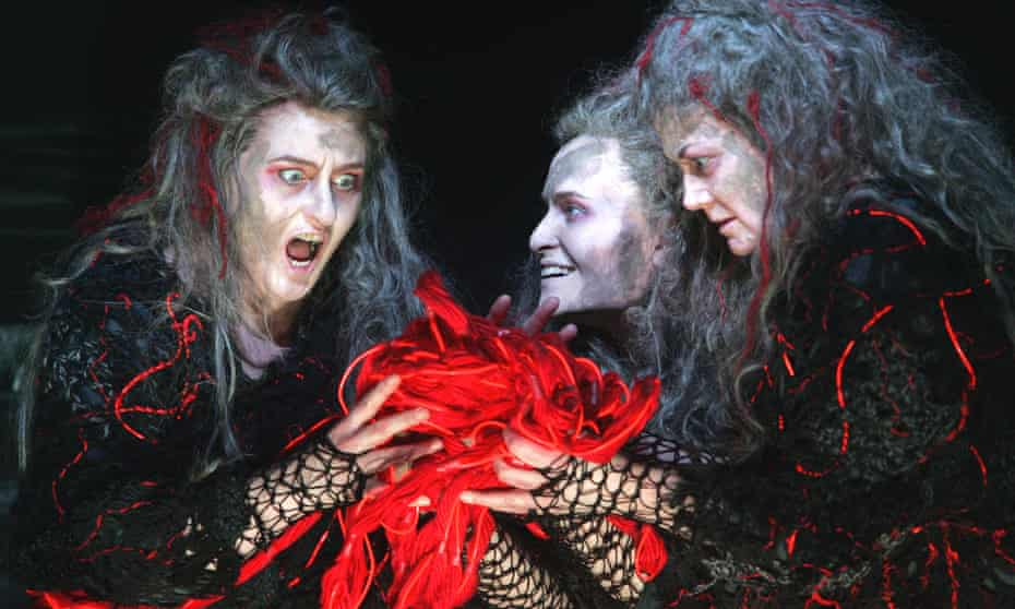 Gods and monsters... the Norns in Gotterdammerung in Keith Warner's staging for the Royal Opera House.