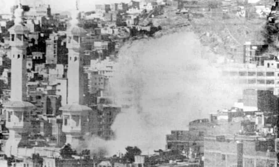 Mecca's Great Mosque under siege in 1979