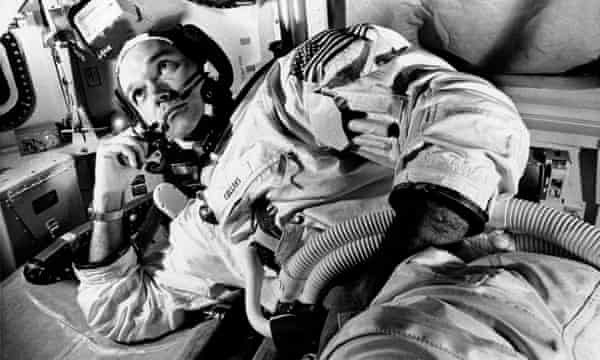 Michael Collins was the command module pilot on the Apollo mission in July 1969.
