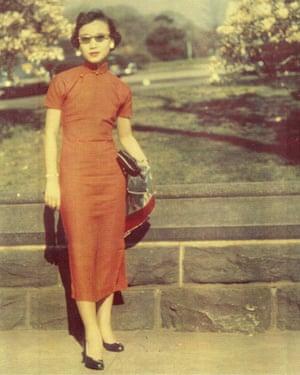 Rowan Hisayo Buchanan's grandmother, Jean.