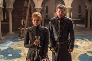Cersei Lannister with her brother Jaime Lannister