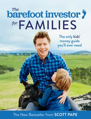 Cover image for The Barefoot Investor for Families by Scott Pape