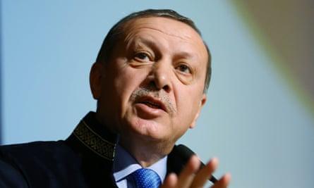 Recep Tayyip Erdogan<br>