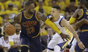 LeBron James and Steph Curry go head-to-head as the NBA finals start
