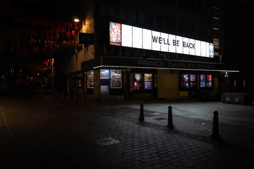 Prince Charles cinema near Leicester Square is just one of hundreds of movie theatres to close as the coronavirus pandemic sweeps across the UK.
