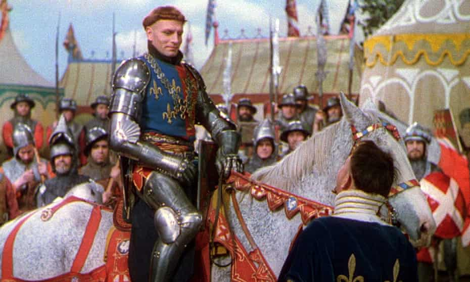 Laurence Olivier plays Henry V in the 1944 film
