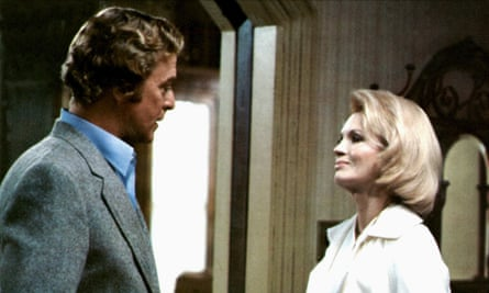 Michael Caine and Angie Dickinson in Dressed to Kill: worth a raspberry?