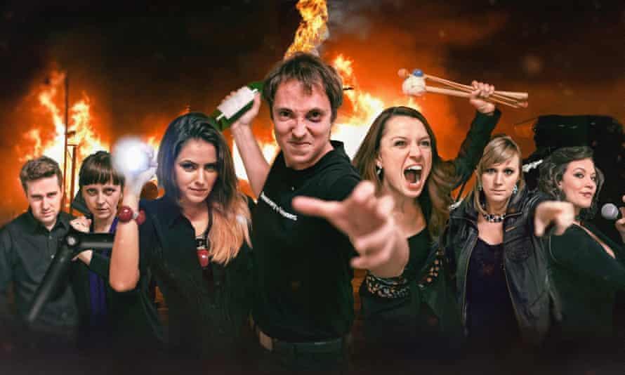 Fiery dedication to new music … Riot Ensemble