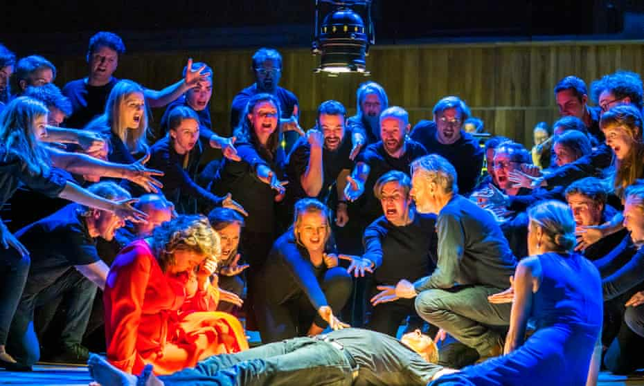 Christine Rice, Roderick Williams and Mark Padmore in Bach's St John Passion with the Orchestra of the Age of Enlightenment conducted by Simon Rattle at Royal Festival Hall last year.
