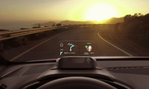 The road ahead: Navdy's 'heads up' display uses augmented reality