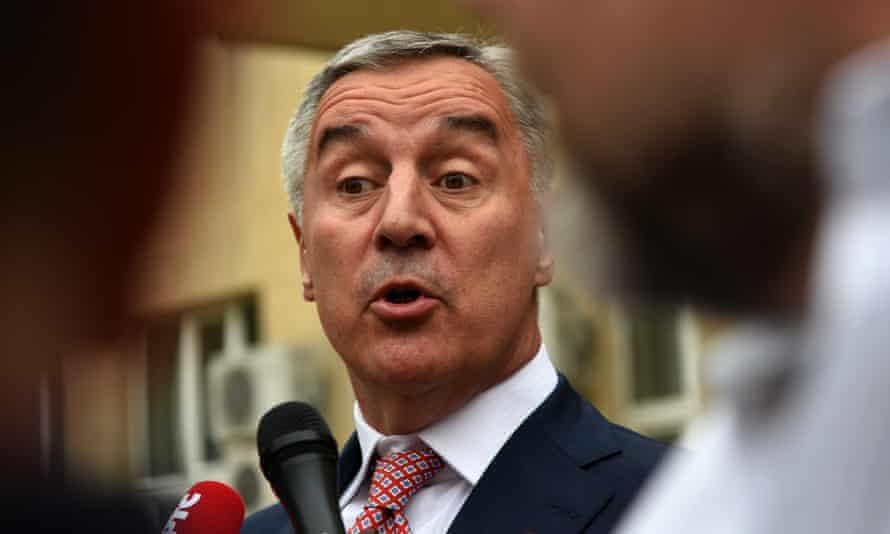 Milo Djukanovic, president of Montenegro.