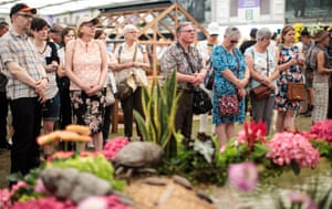 At the RHS Chelsea Flower Show
