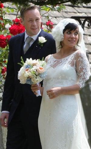 Wedding of Lily Allen and Sam Cooper, Cranham, Gloucestershire, Britain - 11 Jun 2011