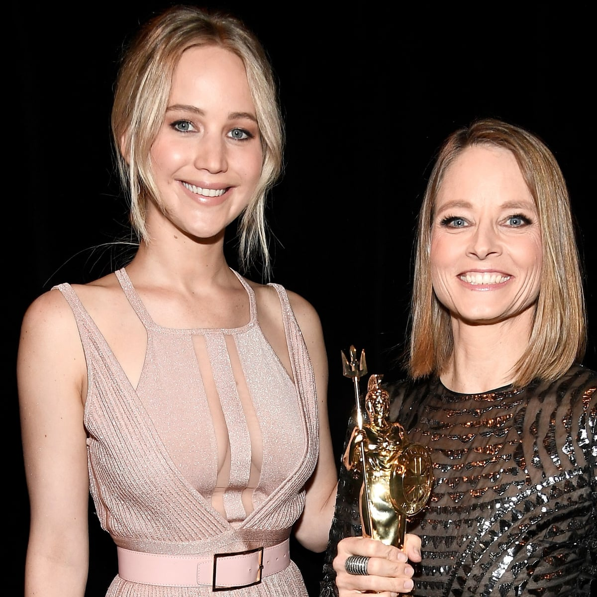 Jennifer Lawrence hails 'my vote for president' Jodie Foster ...