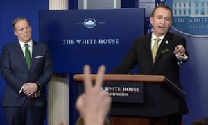 Mick Mulvaney White House budget director