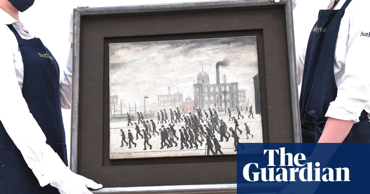 LS Lowry's Going to the Match to go under hammer at Sotheby's