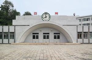 Early Pyongyang metro station.