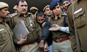 The driver, Shiv Kumar Yadav, was convicted of rape and sentenced to life in prison.