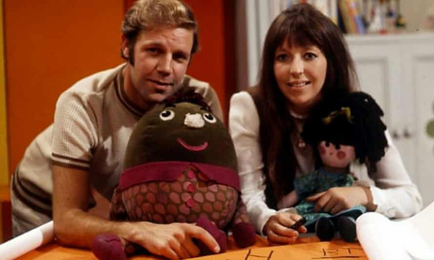 Brian Cant with Chloe Ashcroft