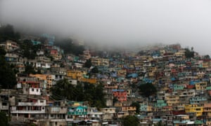 Hurricane Matthew approaches Port-au-Prince, Haiti