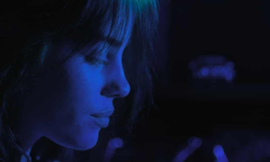 A still from Billie Eilish: The World's A Little Blurry
