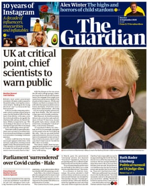 The Guardian from page, 21 September 2020.