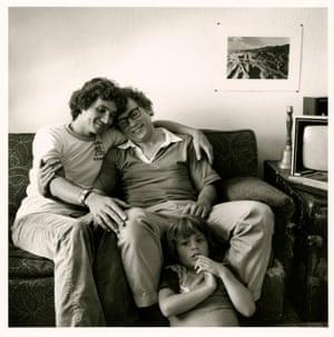 Tony and Alan are Rearing Tony's Son, Jon – a photograph from 1977.