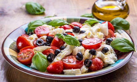 The Mediterranean diet is said to be the healthiest in the world.