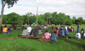 Paraguayan campesino community of Arsenio Vázquez, on land that was won through occupation in 2004