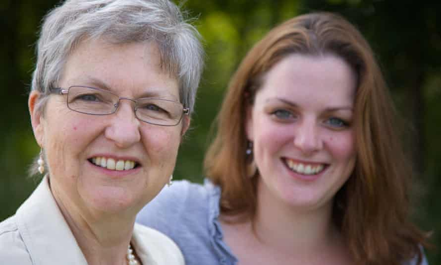 Al Garthwaite and her daughter Shelley