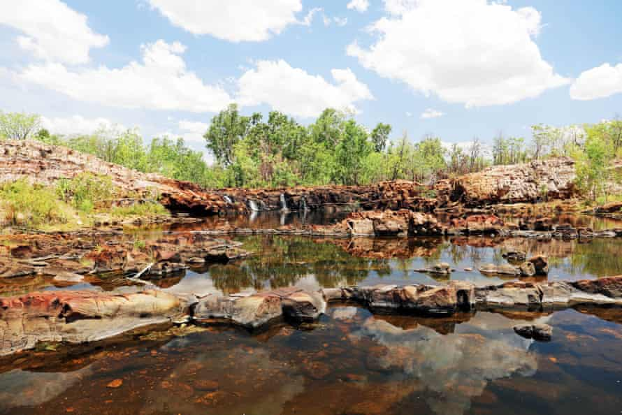 Idyllic pools at Leliyn in the Northern Territory's Katherine region
