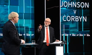 Jeremy Corbyn And Boris Johnson Take Part In ITV Leaders Debate
