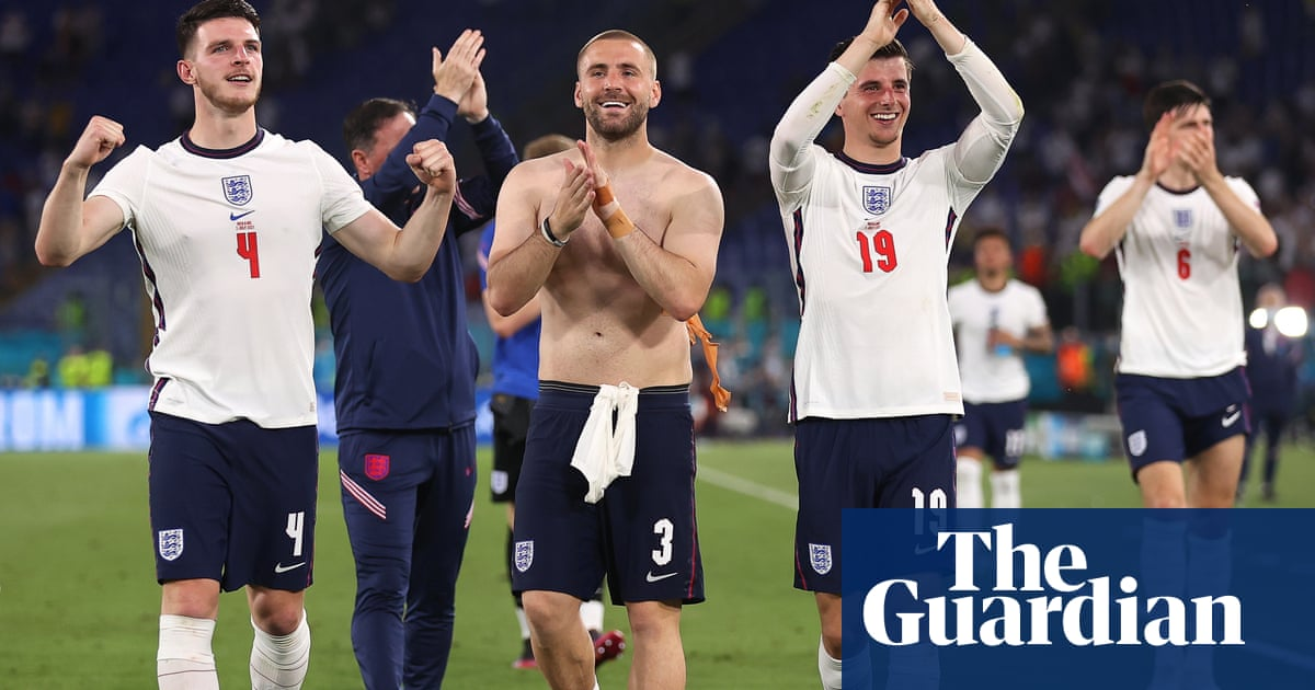 England come home as players and fans prepare for return to Wembley