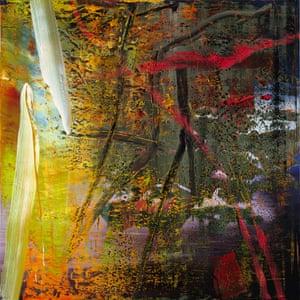 Gerhard Richter's Geäst (Branches) (1988).