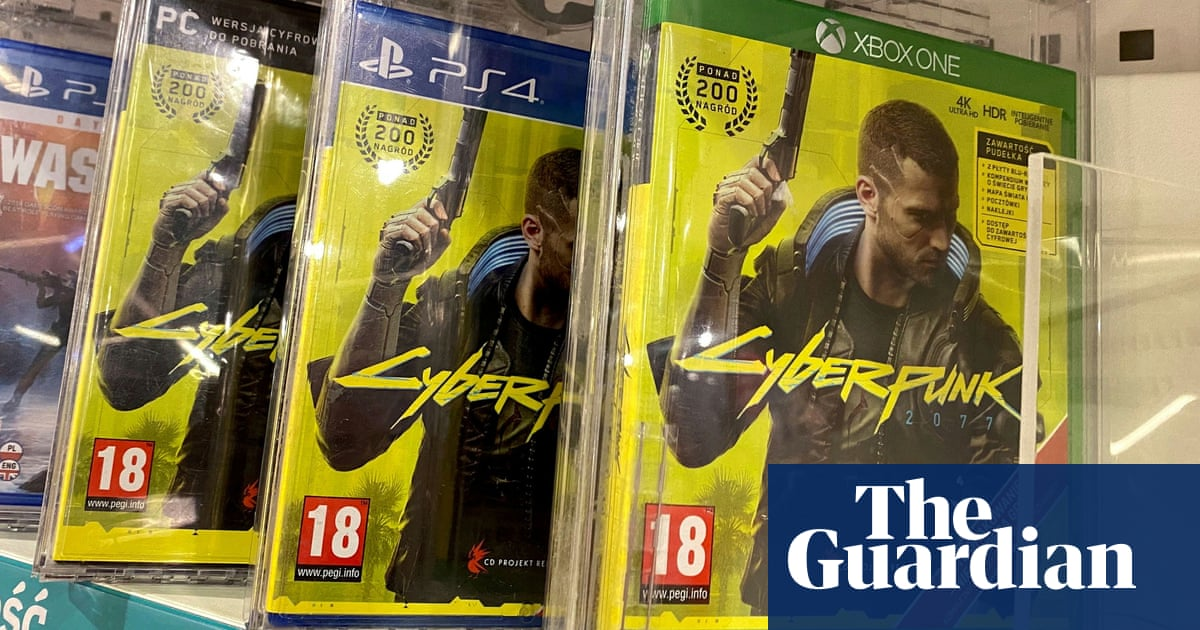 Cyberpunk 2077 finally launched on PlayStation 4