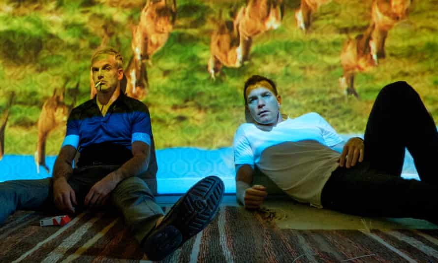 'It has the same punchy energy, the same defiant pessimism' … Jonny Lee Miller and Ewan McGregor in T2 Trainspotting
