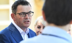Daniel Andrews on the campaign trail at Clyde Primary School in Melbourne