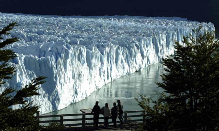 The Perito Moreno glacier in Argentinian Patagonia
