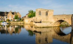 The chapel bridge over the River Great Ouse at St Ives