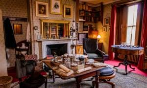 Darwin's study at Down House, Kent.