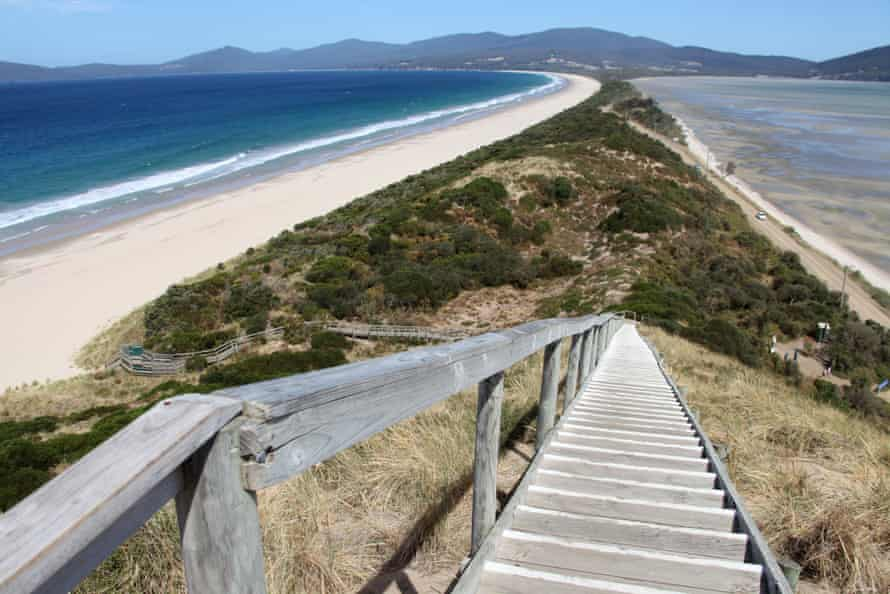 Bruny Island Neck in Tasmania – a good day trip from Hobart.
