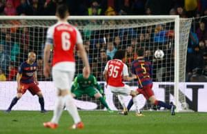 Mohamed Elneny's fabulous finish gives Arsenal a bit of hope.