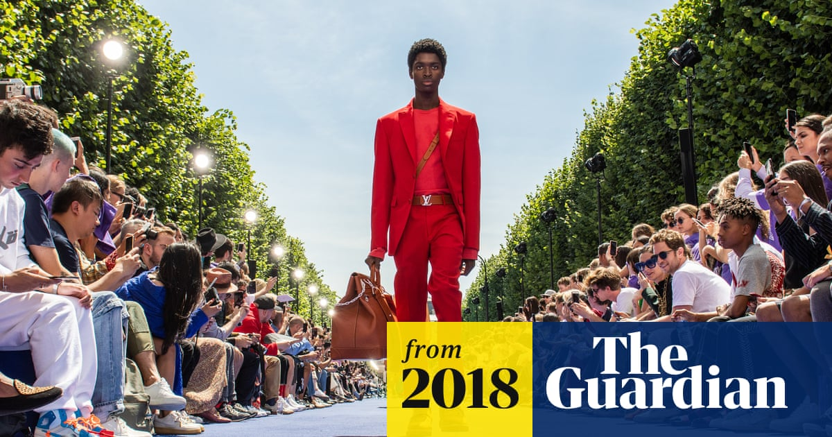 8308952c1b V is for Virgil: Abloh makes debut for Louis Vuitton in Paris ...