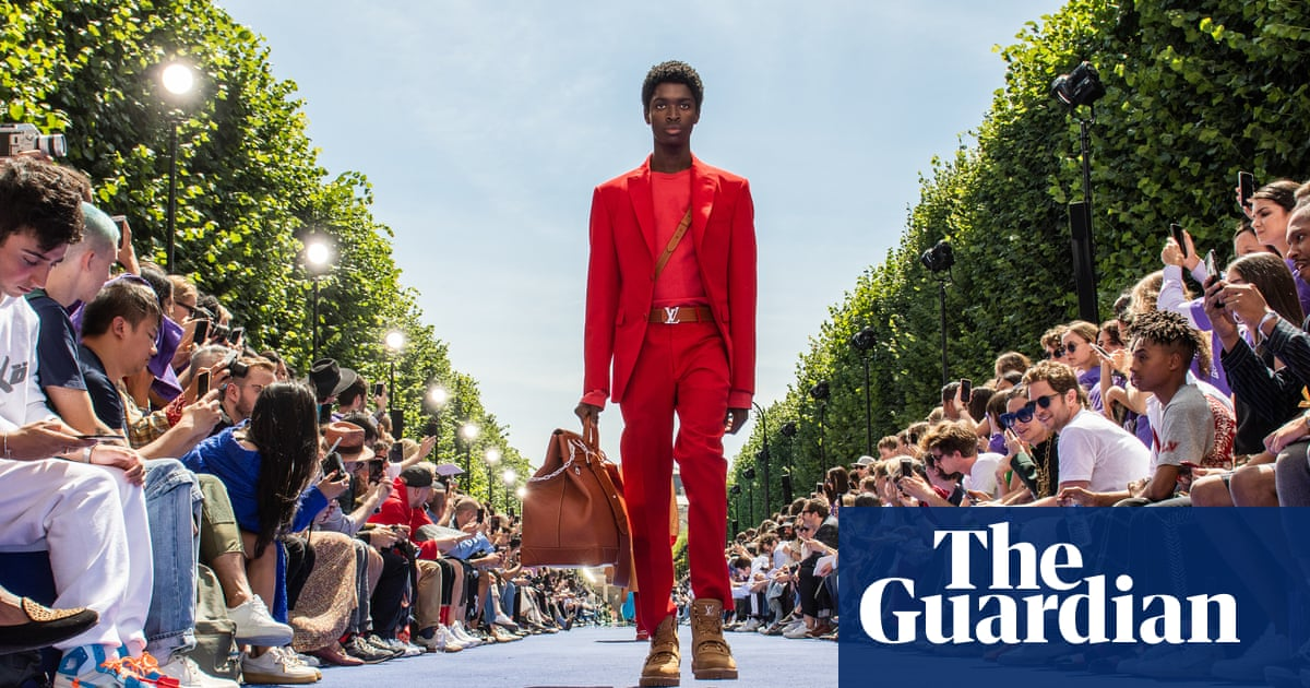 596ae1d69 V is for Virgil  Abloh makes debut for Louis Vuitton in Paris ...
