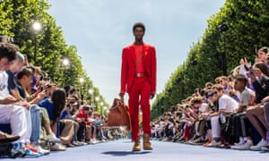 3f1aa1ee72 V is for Virgil: Abloh makes debut for Louis Vuitton in Paris ...