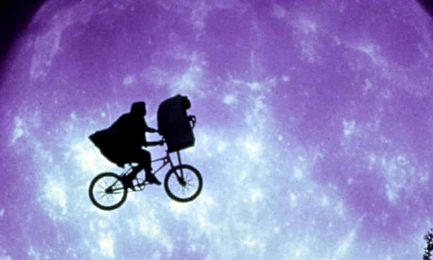A scene from ET: the Extra-Terrestrial