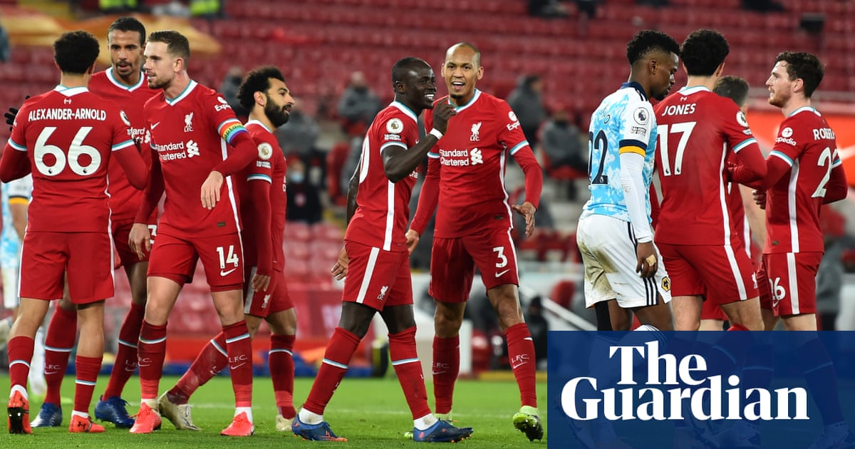 Liverpools rediscovered relentlessness is ominous for their title rivals | Jonathan Wilson