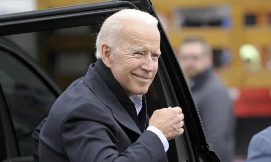 Joe Biden is believed to be developing a 'middle ground' approach on climate change but his fellow candidate Jay Inslee warned: 'Half-measures mean full extinction of millions of species and full economic damage to communities across America.'